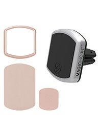 MagicMount™ Pro Vent with Rose Gold Trim Ring Plate Kit